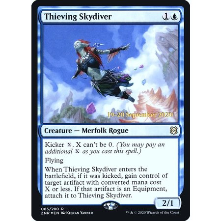 Thieving Skydiver - Foil - Prerelease Promo
