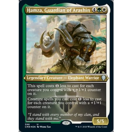 Hamza, Guardian of Arashin - Foil-Etched