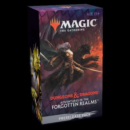 MTG Adventures in the Forgotten Realms Prerelease Kit