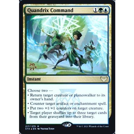 Quandrix Command - Foil - Prerelease Promo