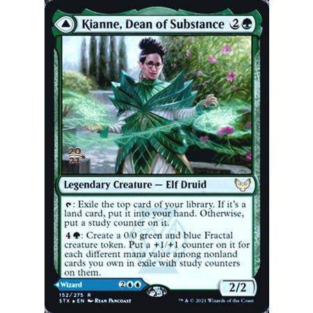Kianne, Dean of Substance - Foil - Prerelease Promo