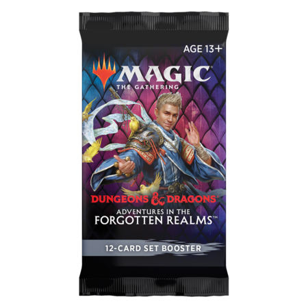 MTG Booster Pack - Adventures in the Forgotten Realms Set Booster
