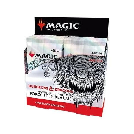 MTG Booster Box - Adventures in the Forgotten Realms Collector Booster **Comes with Buy-A-Box Promo While Supplies Last**