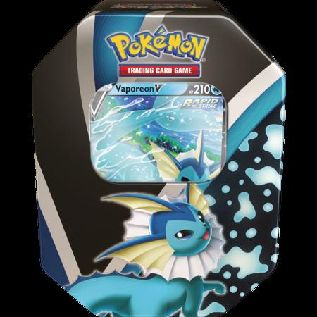 Pokemon Eevee Evolutions V Tin - Vaporeon