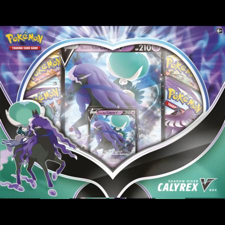 Pokemon Shadow Rider Calyrex  V Box