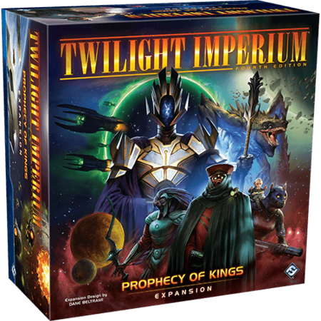 RESTOCK PREORDER - Twilight Imperium Fourth Edition: Prophecy of Kings expansion