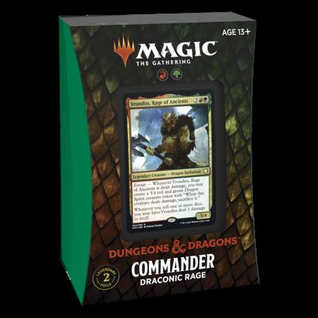 MTG Commander Forgotten Realms - Draconic Rage