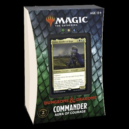 MTG Commander Forgotten Realms - Aura of Courage