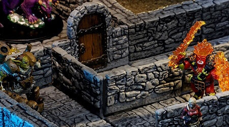 Warlock Tiles interactive 3D scenery for D&D and Pathfinder RPGs