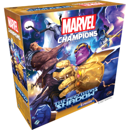 Marvel Champions: The Card Game - The Mad Titan's Shadow Expansion