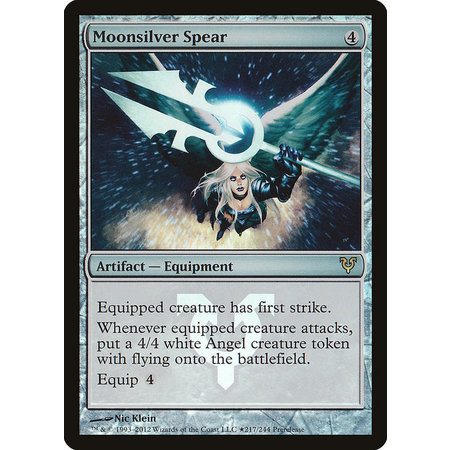 Moonsilver Spear - Foil - Prerelease Promo