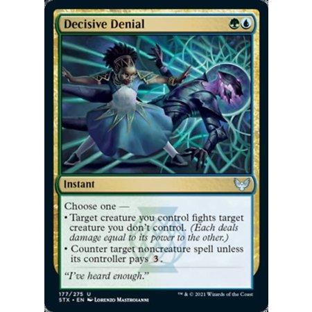 Decisive Denial - Foil
