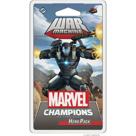 PREORDER - Marvel Champions: The Card Game - War Machine Hero Pack