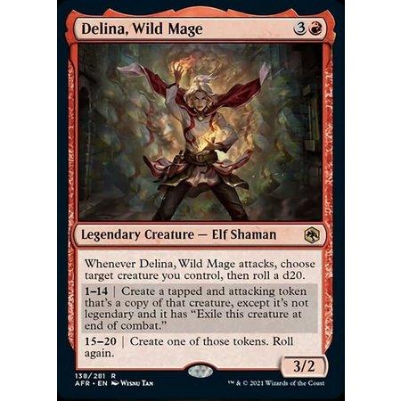 Delina, Wild Mage - Foil