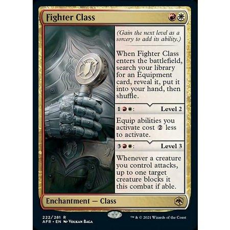 Fighter Class - Foil