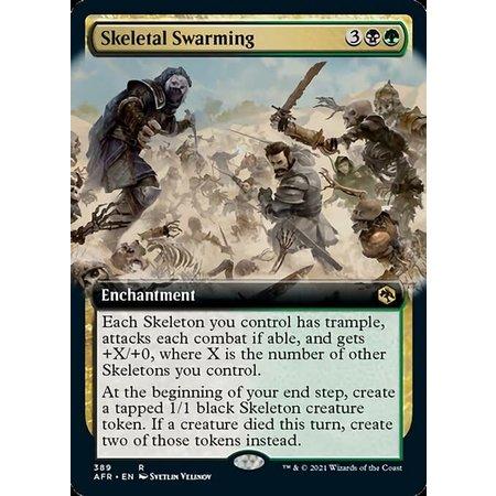 Skeletal Swarming - Foil