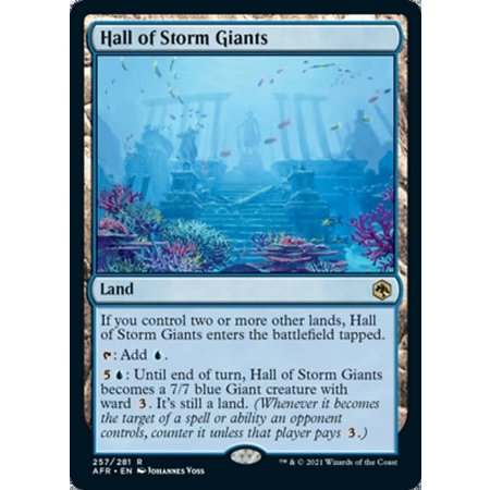 Hall of Storm Giants - Foil