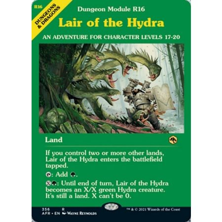 Lair of the Hydra - Foil