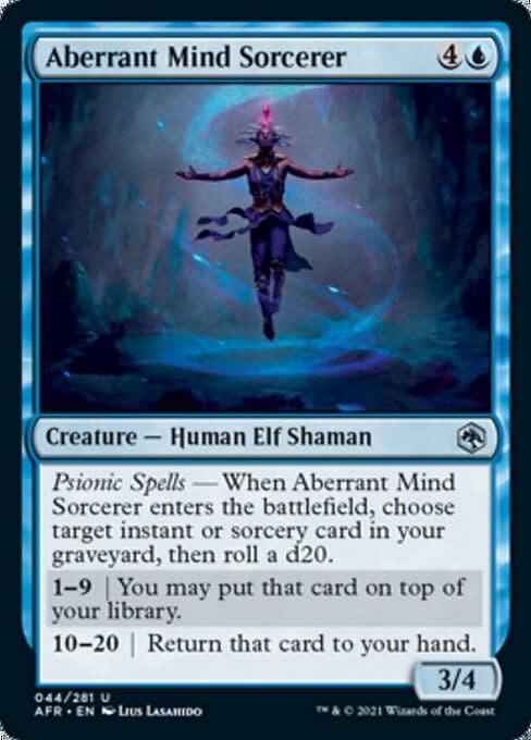 Aberrant Mind Sorcerer - Foil