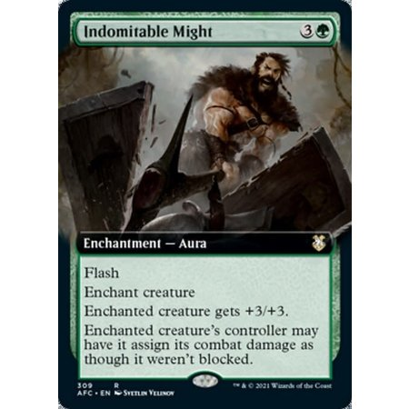 Indomitable Might