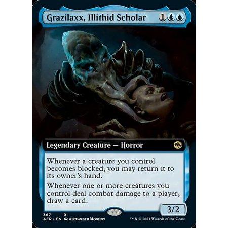 Grazilaxx, Illithid Scholar - Foil