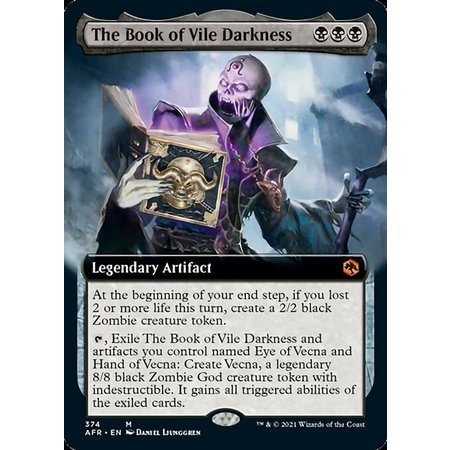 The Book of Vile Darkness - Foil