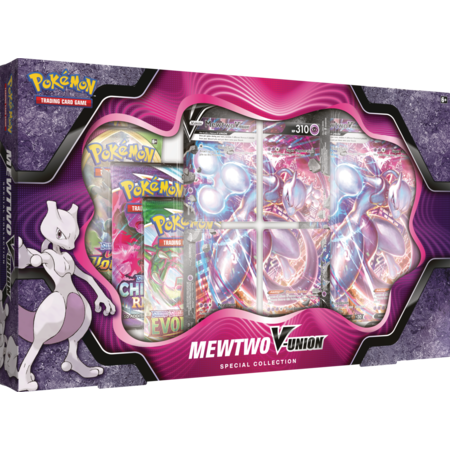 Pokemon V-Union Box - Mewtwo