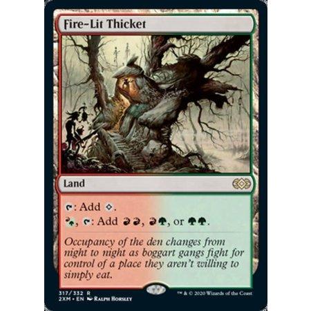 Fire-Lit Thicket - Foil