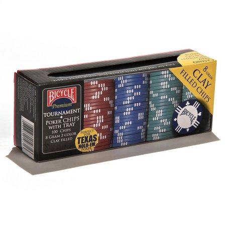 Bicycle Premium Poker Chip Set (100ct)