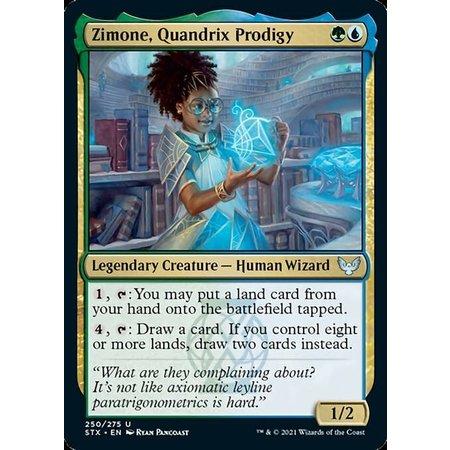 Zimone, Quandrix Prodigy - Foil
