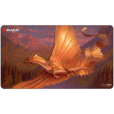 UP Playmat - MTG Adult Gold Dragon