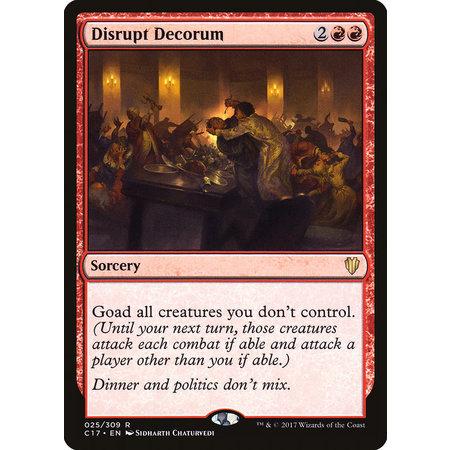 Disrupt Decorum