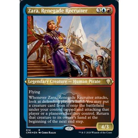 Zara, Renegade Recruiter - Foil-Etched