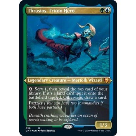 Thrasios, Triton Hero - Foil-Etched