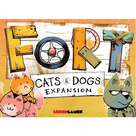 PREORDER: Fort: Cats and Dogs Expansion
