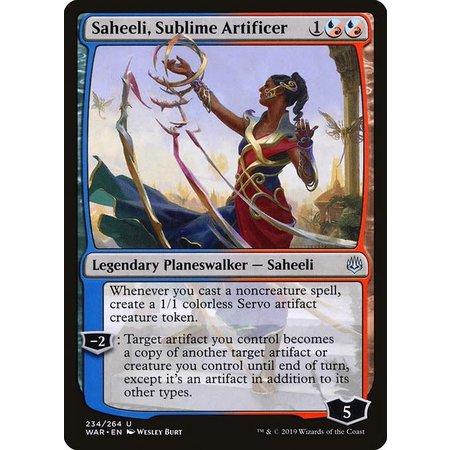 Saheeli, Sublime Artificer (Japanese Alternate Art)