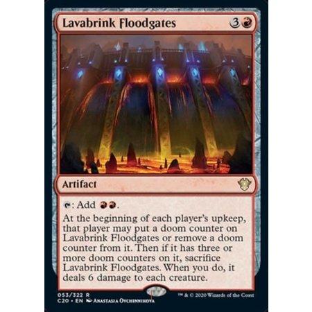 Lavabrink Floodgates