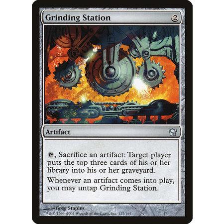 Grinding Station