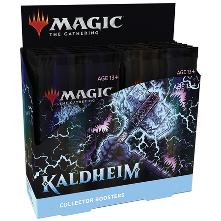 MTG Booster Box - Kaldheim Collector Booster