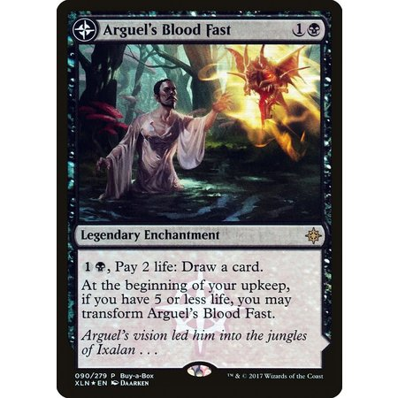 Arguel's Blood Fast // Temple of Aclazotz - Buy A Box Foil