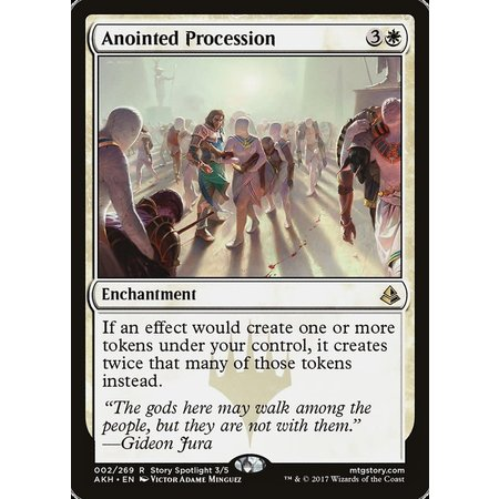Anointed Procession - Foil