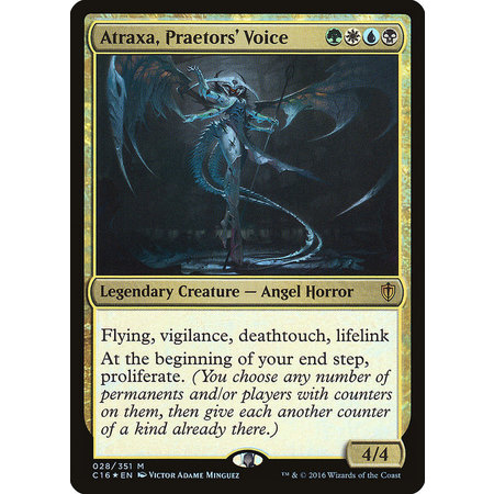 Atraxa, Praetors' Voice - Foil