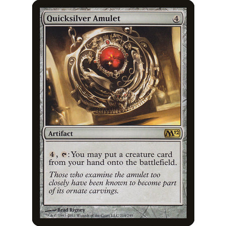 Quicksilver Amulet (HP)