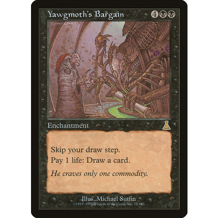 Yawgmoth's Bargain (HP)