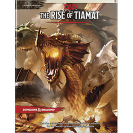Dungeons and Dragons 5th Edition RPG: The Rise of Tiamat