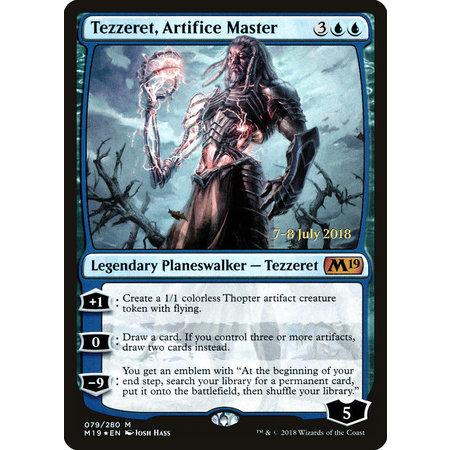 Tezzeret, Artifice Master - Foil - Prerelease Promo