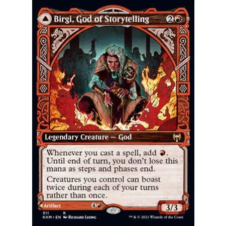 Birgi, God of Storytelling - Foil