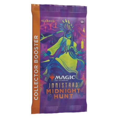MTG Booster Pack - Innistrad: Midnight Hunt Collector Booster