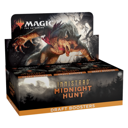 MTG Booster Box - Innistrad: Midnight Hunt Draft Booster **Comes with Buy-A-Box Promo While Supplies Last**
