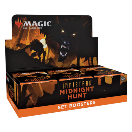 MTG Booster Box - Innistrad: Midnight Hunt Set Booster **Comes with Buy-A-Box Promo While Supplies Last**